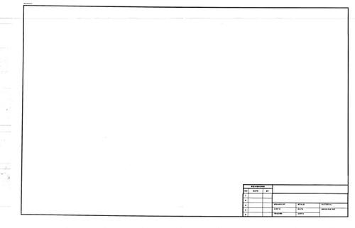 "312332, Engineering Titleblock Translucent Bond, 18""x24"" 200/"