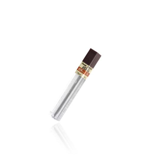 452504, Pentel Super Hi-Polymer Lead .3mm, 2H