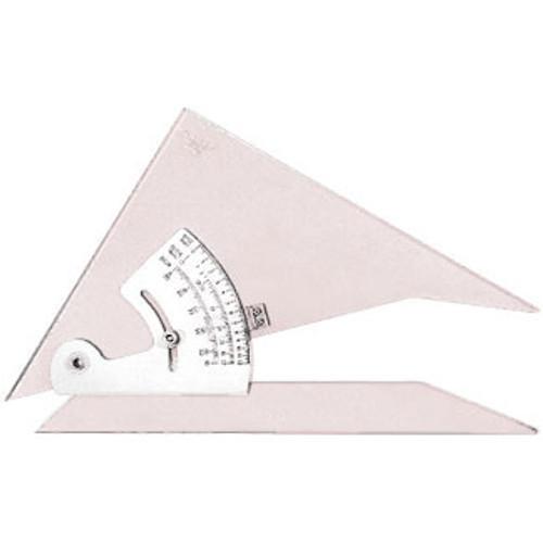 "571608, Adjustable Protractor Triangle, 8"""
