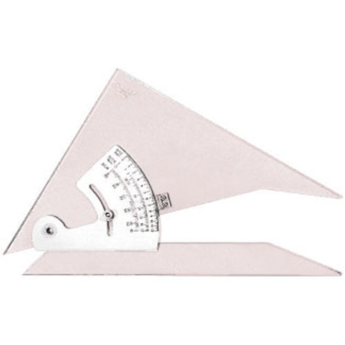 "571610, Adjustable Protractor Triangle, 10"""