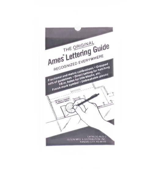 605300, Ames Lettering Guide