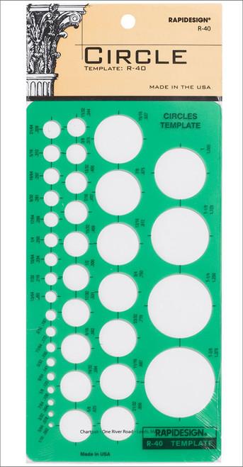 605077, Circles Template R40