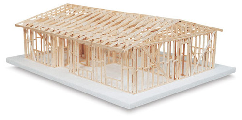630305, Basic House Framing Kit, Truss Roof