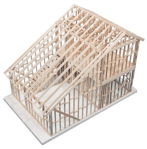 630312, Basic House Framing Kit, 2-Story Townhouse