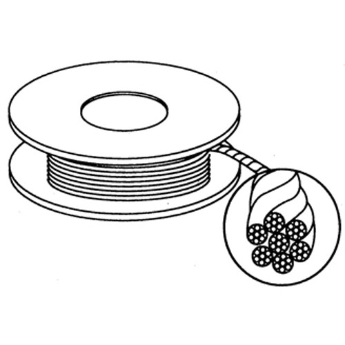 652801, Replacement Cable for Straightedge, 100 ft. roll