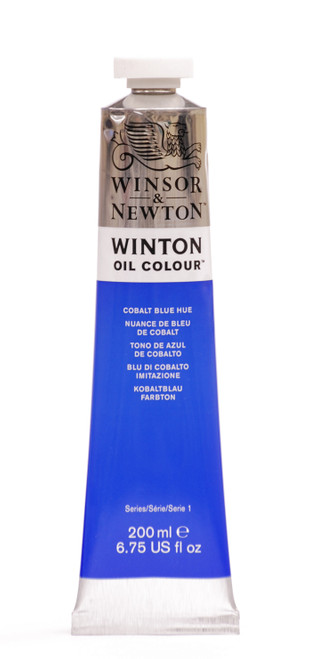 372682, Winton Oil Colour, Cobalt Blue Hue, 200ml.