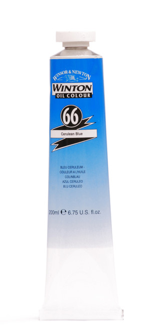 372679, Winton Oil Colour, Cerulean Blue, 200ml.