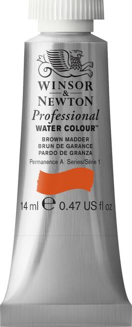 372406, PWC 14ml tube - Brown Madder