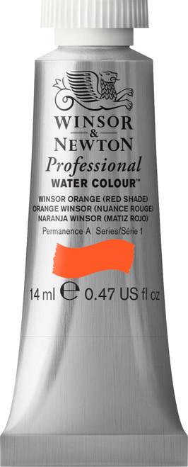 372374, PWC 14ml tube - Winsor Orange Red Shade