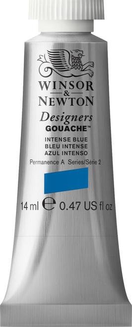 373406, Designers Gouache  14ml tube - Intense Blue