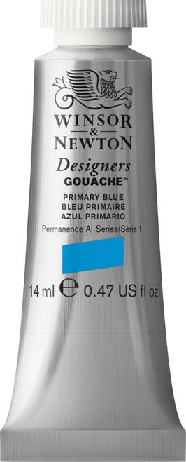 373438, Designers Gouache   14ml tube - Primary Blue