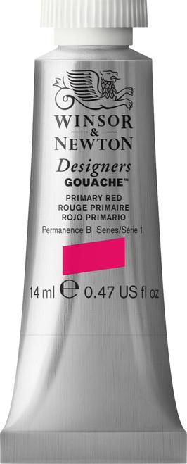 373439, Designers Gouache   14ml tube - Primary Red