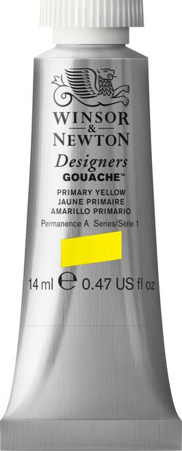 373440, Designers Gouache   14ml tube - Primary Yellow