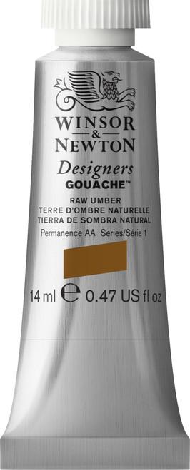 373445, Designers Gouache   14ml tube - Raw Umber