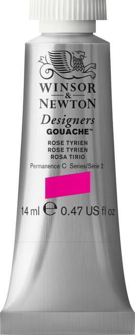 373447, Designers Gouache   14ml tube - Rose Tyrien