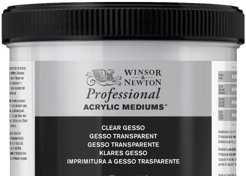 374051, AAM - Clear Gesso 474ml