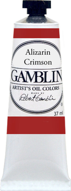 376150, Gamblin Artists Oil, Alizarin Crimson, 37ml