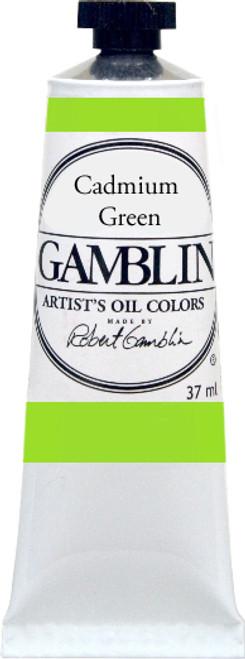 376156, Gamblin Artists Oil, Cadmium Green, 37ml