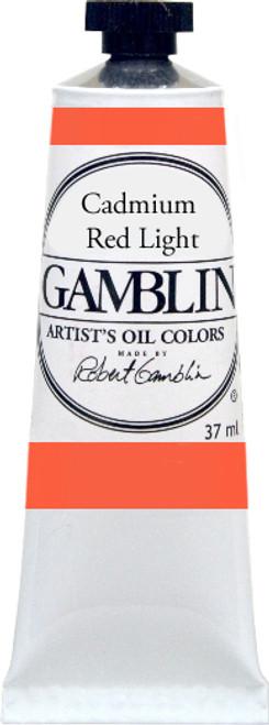 376159, Gamblin Artists Oil, Cadmium Red Light, 37ml