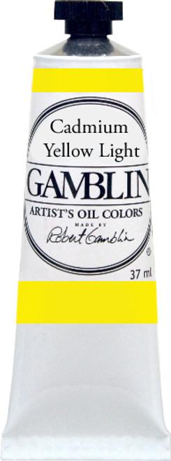 376162, Gamblin Artists Oil, Cadmium Yellow Light, 37ml