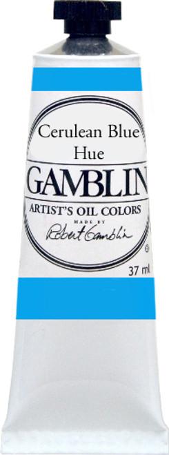 376167, Gamblin Artists Oil, Cerulean Blue Hue, 37ml