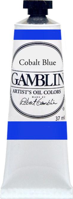 376168, Gamblin Artists Oil, Cobalt Blue, 37ml