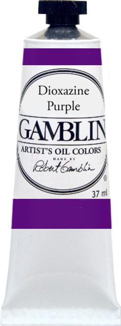 376172, Gamblin Artists Oil, Dioxazine Purple, 37ml