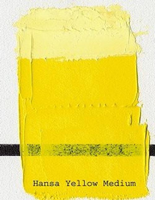 376174, Gamblin Artists Oil, Hansa Yellow Medium, 37ml