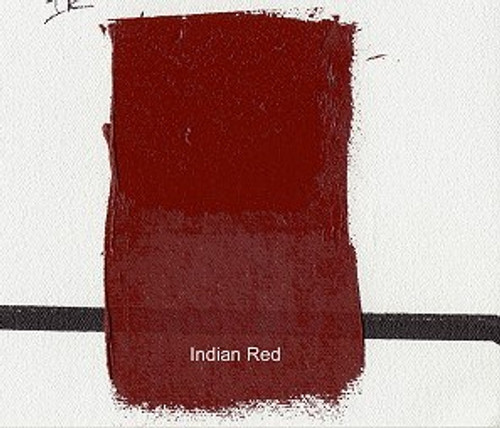376177, Gamblin Artists Oil, Indian Red, 37ml