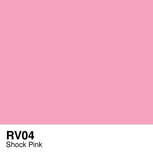 433428, RV04  Shock Pink  Copic Sketch