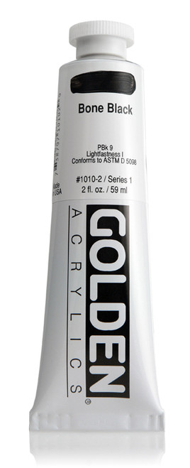 378001, 1010-2 HB Bone Black, 2 oz tube