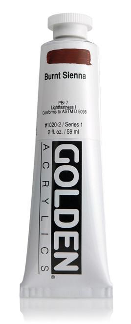 378002, 1020-2 HB Burnt Sienna, 2 oz tube