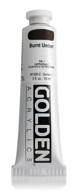 378003, 1030-2 HB Burnt Umber, 2 oz tube