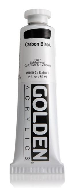 378005, 1040-2 HB Carbon Black, 2 oz tube