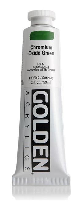 378008, 1060-2 HB Chromium Oxide Green, 2 oz tube