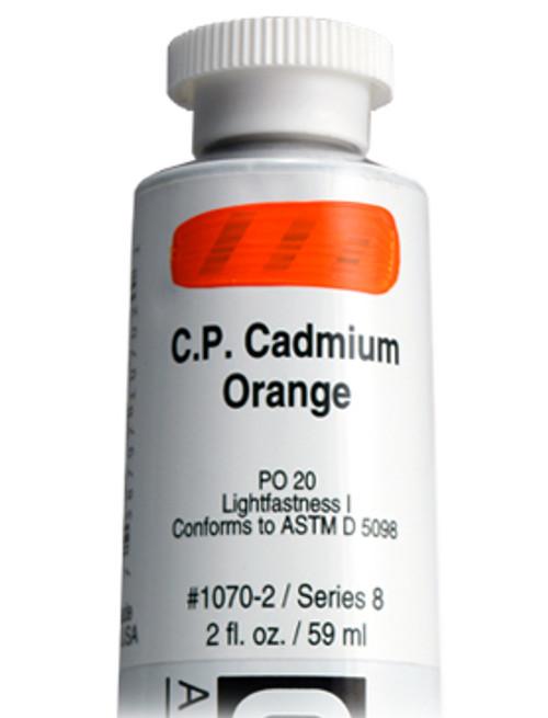 378009, 1070-2 HB C.P. Cadmium Orange, 2 oz tube
