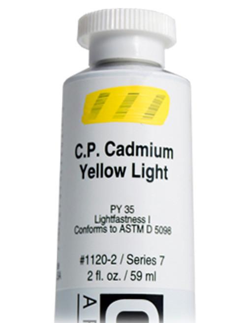 378014, 1120-2 HB C.P. Cadmium Yellow Light, 2 oz tube
