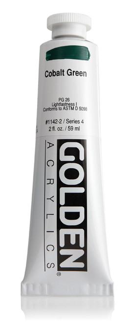378018, 1142-2 HB Cobalt Green, 2 oz tube