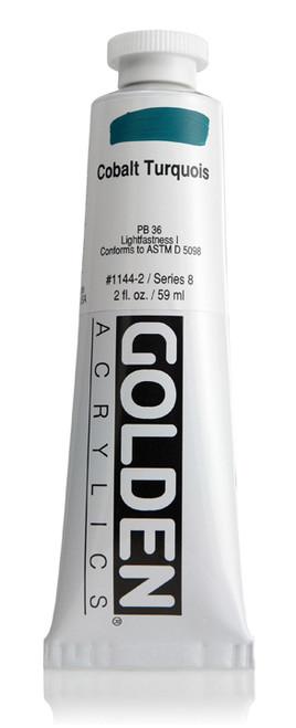 378020, 1144-2 HB Cobalt Turquois, 2 oz tube