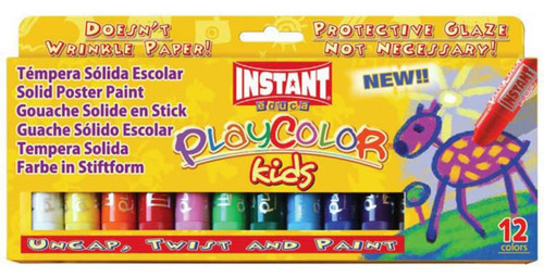 374426, PlayColor Kids Set Tempera, Set of 12