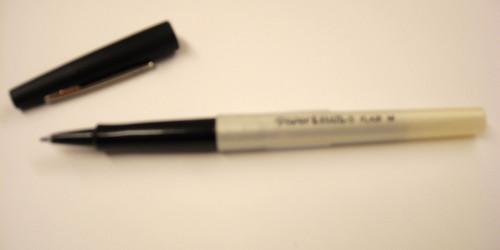437910, Flair Pen, Black, Regular (0.5)