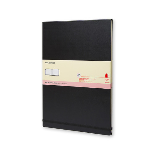 341923, Moleskine Watercolor 5x8, 72 pages, Black cover