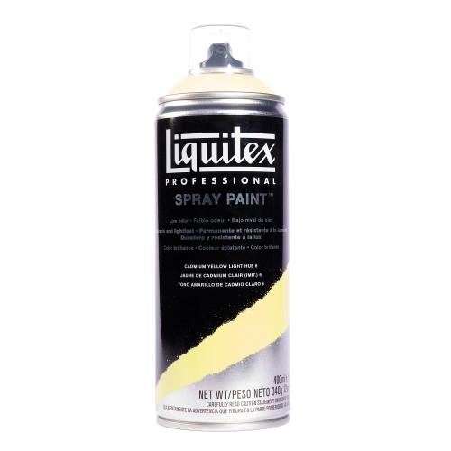 371533, Liquitex Professional Spray Paint,  400 ml,  Cadmium Yellow Light  Hue 6