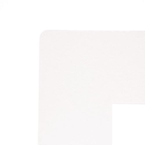"343405, Decorative Matboard, Palm Beach White, 20""x32"""