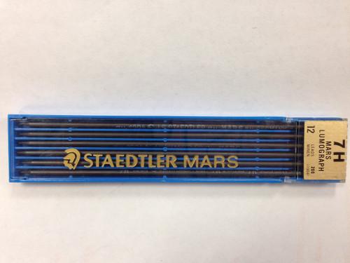 c452220, Staedtler Mars drafting leads, 7H hardness 12/