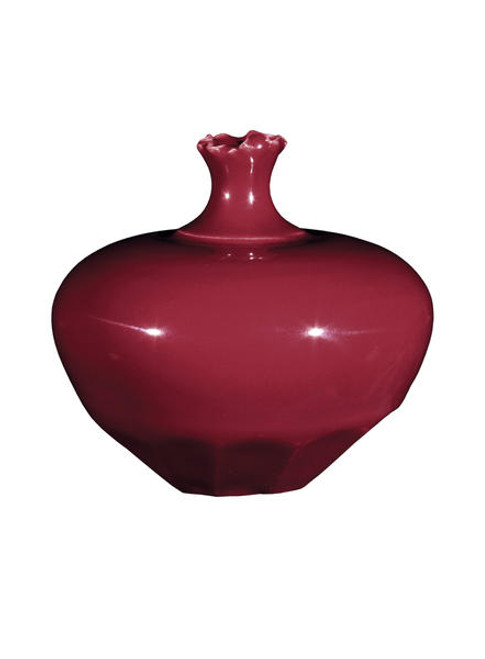 611825, Amaco High Fire Glaze,  HF-56 RED GLOSS, Cone5,   PINT