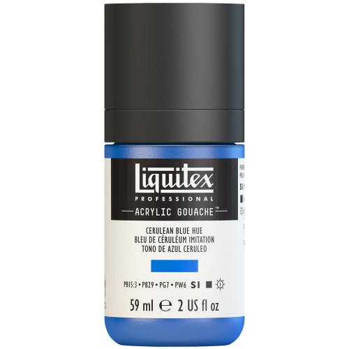 382746, Liquitex Acrylic Gouache, Cerulean Blue Hue, 2oz.