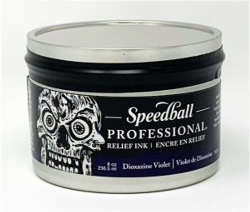 623948, Pro Relief Ink, 8oz    Dioxazine Violet