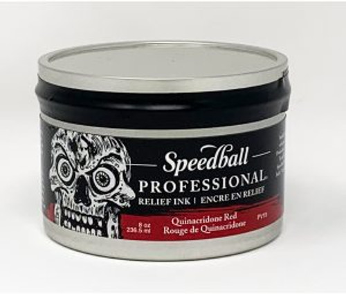623949, Pro Relief Ink, 8oz    Quinacridone Red