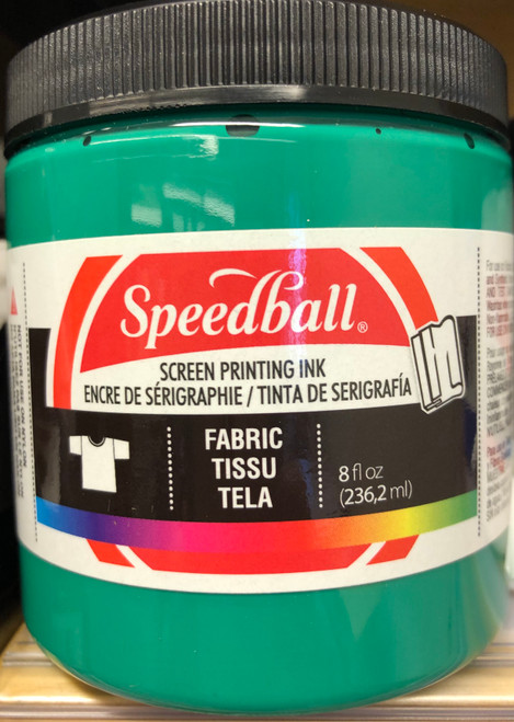 624564, Fabric Screen Printing Ink,  8oz.    Green